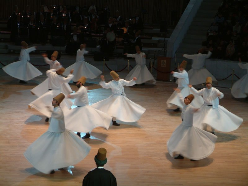 Whirling Dervishes Ceremony at Historical Caravansarai